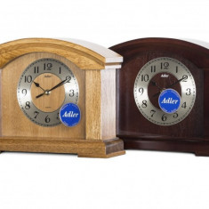 Ceas de birou Adler 7086-2 Stejar 28x21 cm