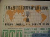Revista Fotbal nr.209/27 mai 1970-Inaugurarea El Mundial 70