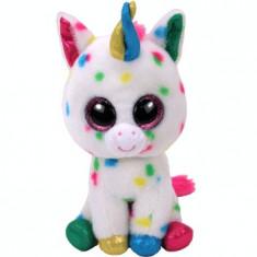 Jucarie de plus TY 24 cm - Boos Harmonie unicornul cu buline