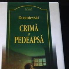 CRIMA SI PEDEAPSA-DOSTOIEVSCHI-TRAD. ION COVACI-ED- III-A-GRUP EDIT. CORINT-