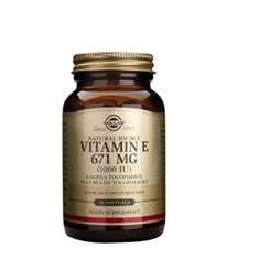 Vitamina E 1000ui Solgar 50cps Cod: slg80