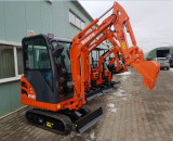 Mini Excavator hidraulic NOU model NANTE NT 18D