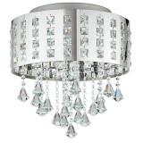 Cumpara ieftin Plafoniera Le LED-INNUENDO/PL40 crom cristal led 24 watt