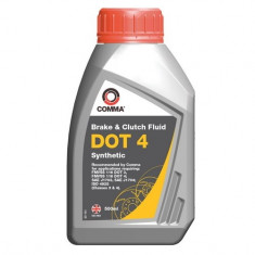 Lichid de frana DOT4 COMMA Sintetic 500ML