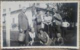 Fotografie de grup la Manastirea Cernica/ 1935