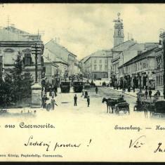 Carte Postala Circulata 1900 BUKOWINA Bucovina Gruss Aus CZERNOWITZ Cernauti, Fotografie