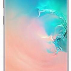 Telefon Mobil Samsung Galaxy S10 Plus, Dynamic AMOLED Capacitive touchscreen 6.4inch, 12GB RAM, 1TB Flash, Camera Tripla 12+12+16MP, 4G, Wi-Fi, Dual S, Alb, Neblocat, Smartphone