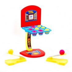 Joc creativ pentru copii cu lansatoare si cosuri de baschet