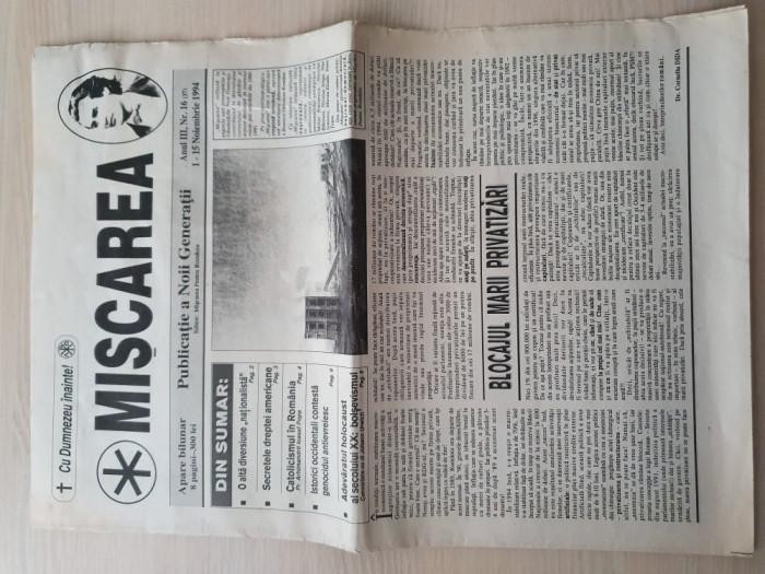 miscarea 1-15 decembrie 1994-ziar legionar,adevaratul holocaust-bolsevismul