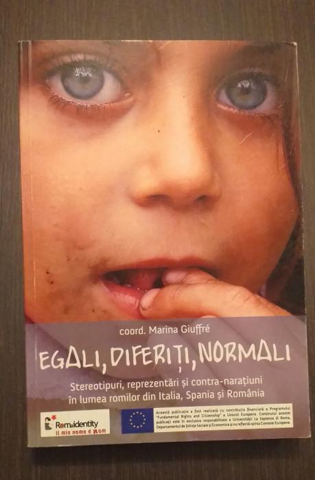 EGALI, DIFERITI, NORMALI - LUMEA ROMILOR DIN ITALIA SPANIA SI ROMANIA M GIUFFRE