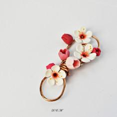 Cocarde nunta flori de cires