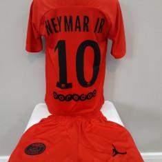 Echipament  fotbal pt copii Paris Saint Germain Neymar Jr Jordan marimea 128, Alta
