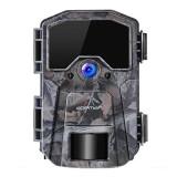 Camera vanatoare Apeman H55, 20 MP, full HD, LCD , 850 nm, senzor de miscare, night vision, 40 senzori