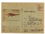 cp AVION  IAR CV11  AVIATIE  BRASOV  MARCA FIXA 50 BANI