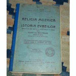 Religia mozaica si istoria evreilor (manual 1929-1930)