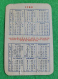 Calendar pionieri si scolari 1963