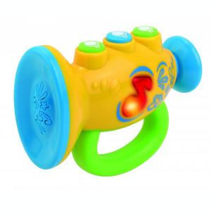 Jucarie muzicala pentru bebelusi Prima mea trompeta, efecte luminoase