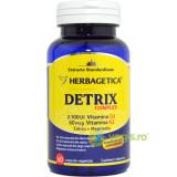 Detrix Complex (Vitamina D3 + Vitamina K2 + Calciu + Magneziu) 60cps