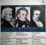 VINIL  Wolfgang Amadeus Mozart  Ludwig van Beethoven  - VG  -