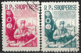B0165 - Albania 1960 - Graniceri 2v.stampilate,serie completa