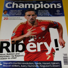 "Revista fotbal - ""CHAMPIONS""(magazin oficial UEFA Champions League 2012)"