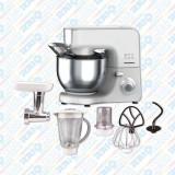 Mixer planetar de bucătărie multifuncțional cu bol din inox 5,5 litri, Heinner, 1000W, 1000 W