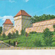 Bnk cp Targu Mures - Cetatea medievala - necirculata - marca fixa, Printata