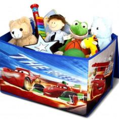 Cutie pentru depozitare jucarii Disney Cars, Multicolor, Delta Children
