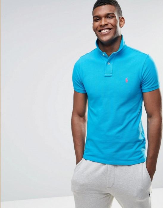 Tricou POLO Ralph Lauren  Custom Slim Fit M