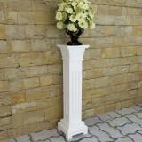 Suport plante în formă de pilon clasic pătrat, MDF