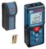 Telemetru laser BOSCH GLM 40, 40 m, +/-1.5 mm/m, 10 valori memorate