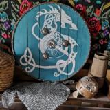 Scut viking/celtic din lemn handmade! Deosebite!