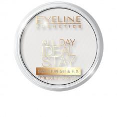 Pudra matifianta de fata, Eveline Cosmetics, All day Ideal Stay