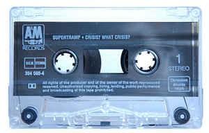 Caseta Supertramp – Crisis? What Crisis?, originala, holograma
