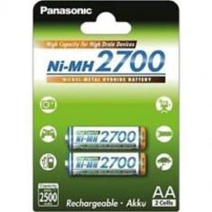 Acumulatori Panasonic AA R6 2700mAh 2 Bucati / Set