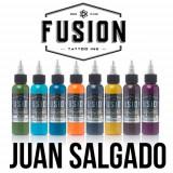 Set Fusion Gama Juan Salgado 8 tusuri 30 ml