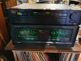 Onkyo P-3390 & M-5590, preamplificator si final.