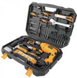 Set bormasina 710 W Tolsen Industrial Force Xpress 0-2900 RPM + set accesorii...