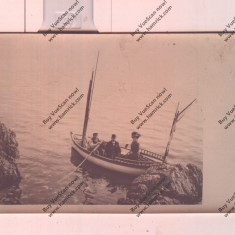 CARTE POSTALA*PLIMBARE CU BARCA PE MARE, Circulata, Printata