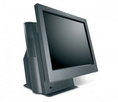 Sistem POS IBM SurePOS 4852-566, Display 15inch Touchscreen, Intel Celeron Dual Core E1500 2.2 GHz, 4 GB DDR2, 128 GB SSD NOU, Windows 10 Home, 2 Ani foto