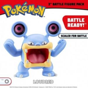 Pokemon, Loudred figurina articulata 7 cm