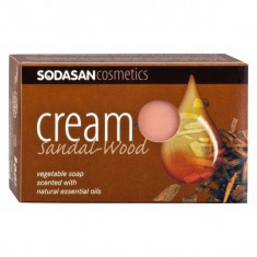 Sapun crema ecologic cu santal 100gr