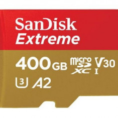 Card memorie Sandisk Extreme microSDXC, 400GB, UHS-I, U3
