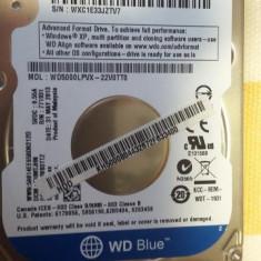 hdd laptop 500gb Western digital