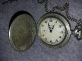 Ceas colectie ceas de buzunar Molnija mecanism 3602,stare foto-Functional,T.GRAT