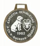 AMS* - MEDALIA EXPOZITIA REPUBLICANA A.CH.R. SUCEAVA-RADAUTI 1982