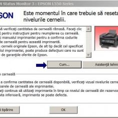 Resetare erori imprimante EPSON L si Stylus color (89 modele)
