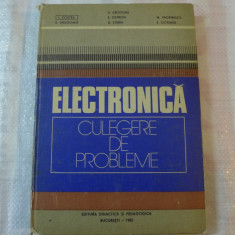 Electronica -culegere de probleme de Dr. Ing. Victor Croitoru pentru subingineri