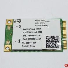 Placa de retea wireless Intel 512AN_MMW HP Pavilion DV7 480985-001