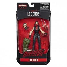 Figurina Hasbro Marvel Build A Figure Legends Daredevil Elektra 15Cm